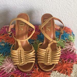 Vintage Ms chunky heel Sandals